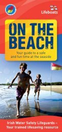 guide to beach safety - RNLI