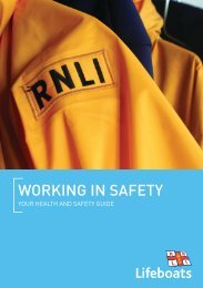 working in safety