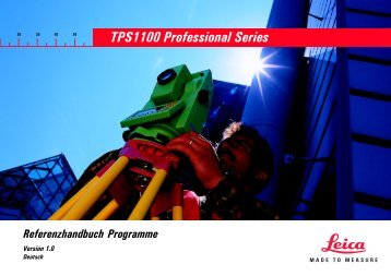 TPS1100 Professional Series - GEFOS
