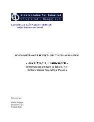 - Java Media Framework -