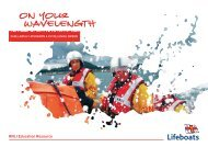 Teacher's Guide and Lesson Plans - RNLI
