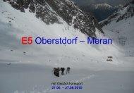 Zu Fuß über die Alpen - Von Oberstdorf nach - Alpinschule OASE ...