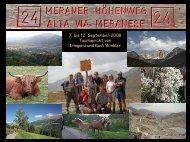 Unser persönliches Fazit zur Tourenwoche  - Alpinschule OASE-Alpin