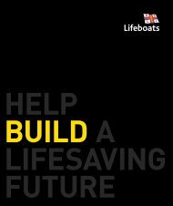 help build for life - RNLI
