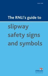 slipway safety signs and symbols