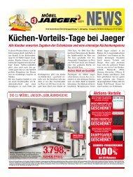 0,00% Küchen-Vorteils-tage bei Jaeger