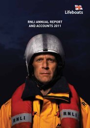 RNLI ANNUAL REPORT AND ACCOUNTS 2011