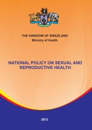 national policy on sexual and reproductive health - Info Centre
