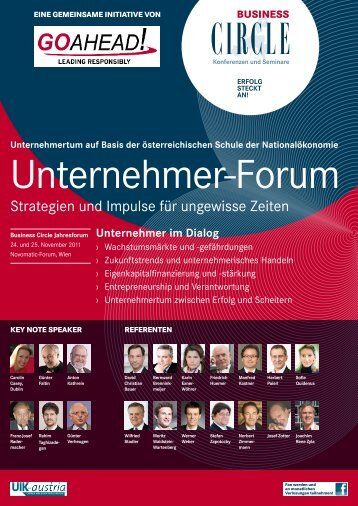 Unternehmer-Forum - Business Circle