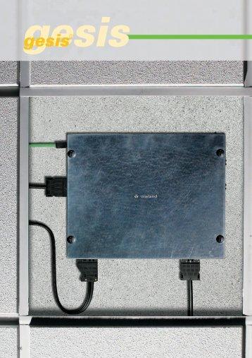 Серия разъемов EST 2i3 (1057Kb) - Wieland