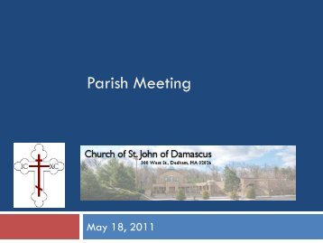 Parish Meeting