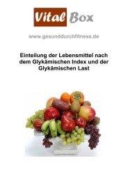 Glykämische Last - gesunddurchfitness.de