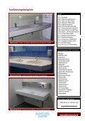 Sanitär-Ausstattungen für Schulen - Gabler  Bauspezialartikel - Page 2