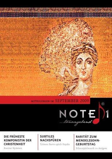 Note1-Magazin SEPTEMBER 09_03.indd