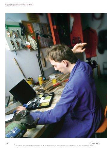Reparaturbedingungen der Hersteller - heinrich-computer - home