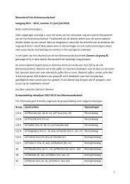 Nieuwsbrief Van Brienenoordschool 2011-2012, nr 11[1]