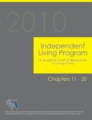 Independent Living Program - Florida's Center for Child Welfare