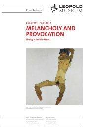 PRESSETEXT Melancholie und Provokation EN - Leopold Museum