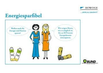 Energiesparfibel - HOWOGE: Klimaschutz Startseite