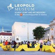 SCHIELE, KLIMT AND ART NOUVEAU in the ... - Leopold Museum