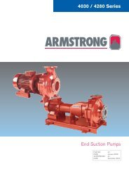 B&G 1510 ------ ARMSTRONG 4030 OLD STYLE     - Armstrong Pumps