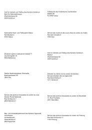 Amt für Verkehr und Tiefbau des Kantons Solothurn Büro für ...