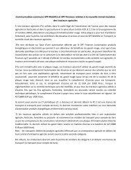 Tracteurs agricoles PV réunion SPF M et T / Finances du 29