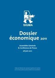 Dossier économique 2011 - SIGMA