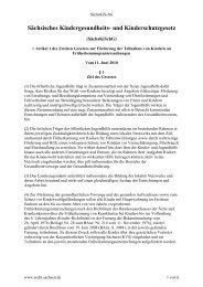 Sächsisches Kindergesundheits- und Kinderschutzgesetz