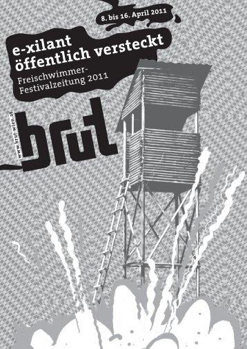e-xilant öffentlich versteckt - brut Wien