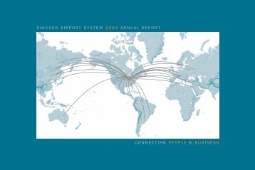 CHICAGO AIRPORT SYSTEM 2004 ANNUAL  REPORT