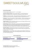 SWEET SOUL MUSIC REVUE - HOANZL Agentur - Page 2