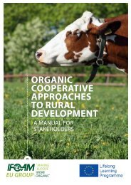 ORGANIC COOPERATIVE APPROACHES TO RURAL DEVELOPMENT