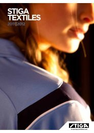 stiga textiles 2011 2012 - Fitzgerald Table Tennis