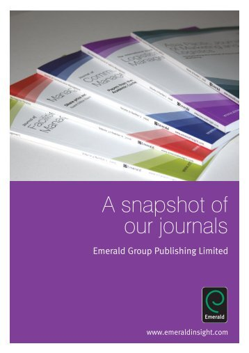 How to submit to an Emerald journal