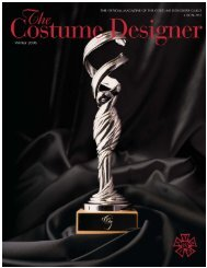 01 cover - the costume designers guild