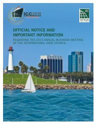 2015 CALL FOR NOMINATIONS TO THE ICC BOARD OF DIRECTORS
