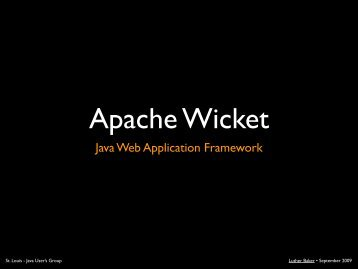 Apache Wicket