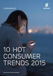 10 Hot Consumer Trends 2015