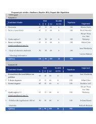 Programi për nivelin e Studimeve Baçelor (BA ... - Pjetër Budi