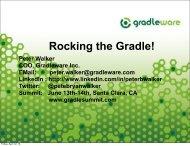 Rocking the Gradle!