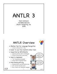 ANTLR 3