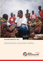 Geschäftsbericht 2011 - Aktion Deutschland Hilft