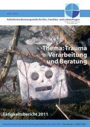 Jahresbericht 2011 - Ehe-, Familien- und Lebensberatung im ...