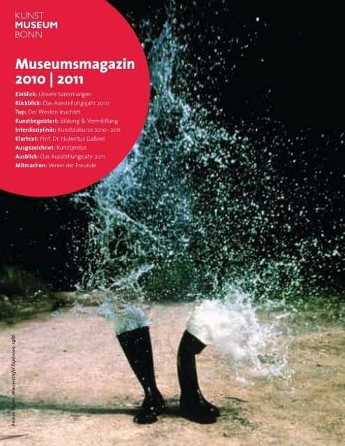 Das Ausstellungsjahr 2011 - Kunstmuseum Bonn