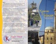 Brochure on visiting Kosovo