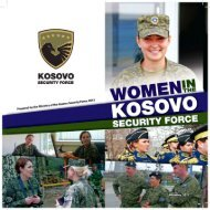 06.11.2013Women in the Kosovo Security Force