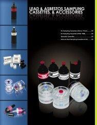 Air Sampling Cassettes - Environmental Monitoring Systems