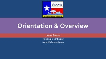 Orientation & Overview