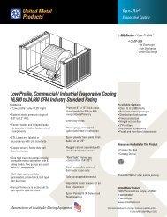 UMP-939 - United Metal Products
